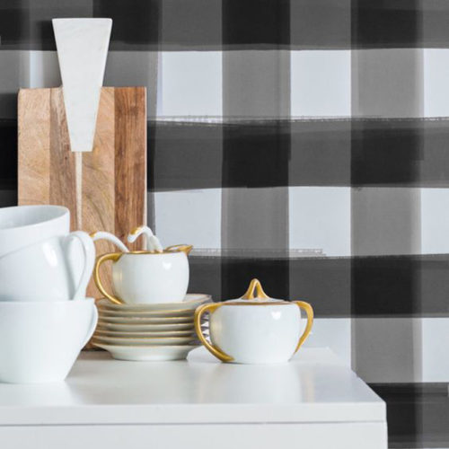 trend alert: buffalo check - 12 ways to use this fall trend | Mint Modern Home