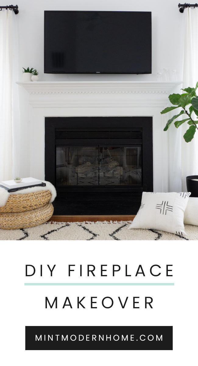 A quick and easy way to makeover your dated brass fireplace with just a few simple supplies. This step-by-step guide will show you how to get an updated fireplace without breaking the bank.