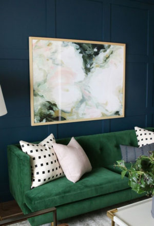 Trend Alert: The Green Velvet Sofa ...
